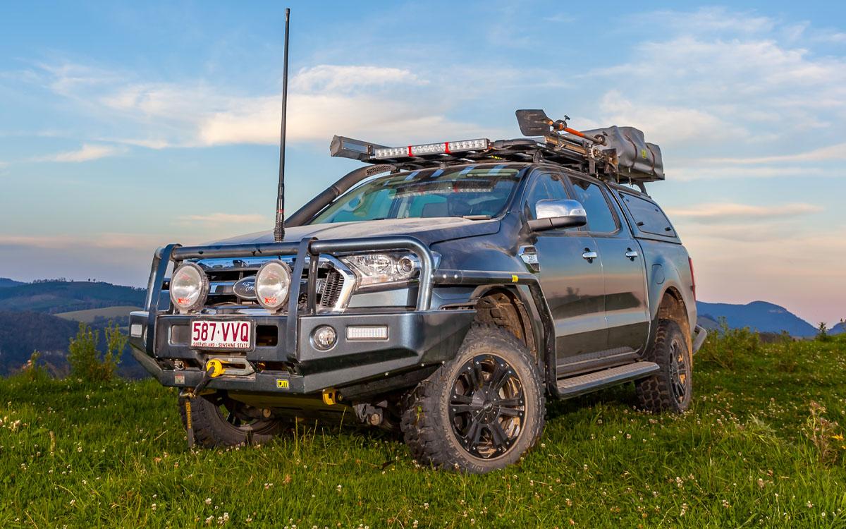 Ford Ranger with TJM Bullbar