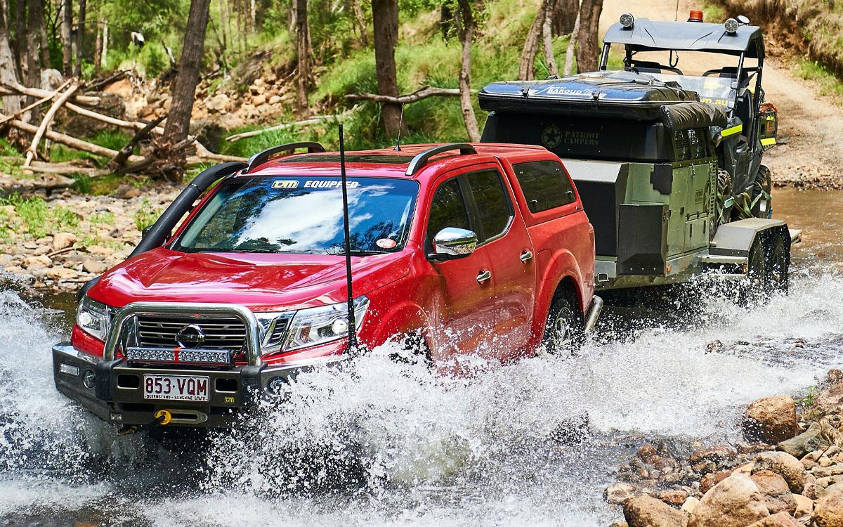 Nissan Navara with TJM Bullbar